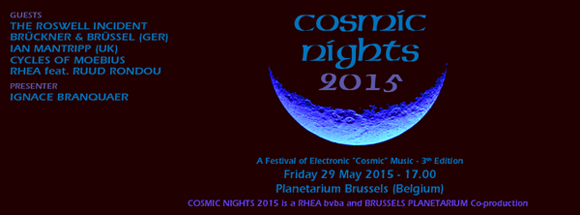 Cosmic Nights 2015 poster